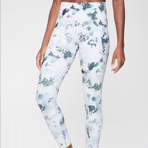 Athleta floral leggings
